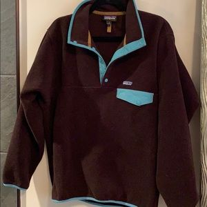 Patagonia Brown Fleece Size Small